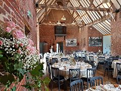 The Granary for weddings at Elms Farm Cottages.
